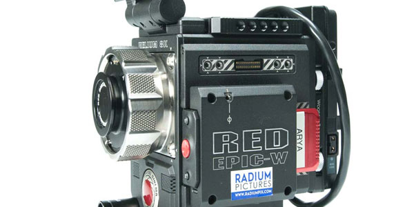 Red Epic-W 8K Helium Digital Cinema Camera